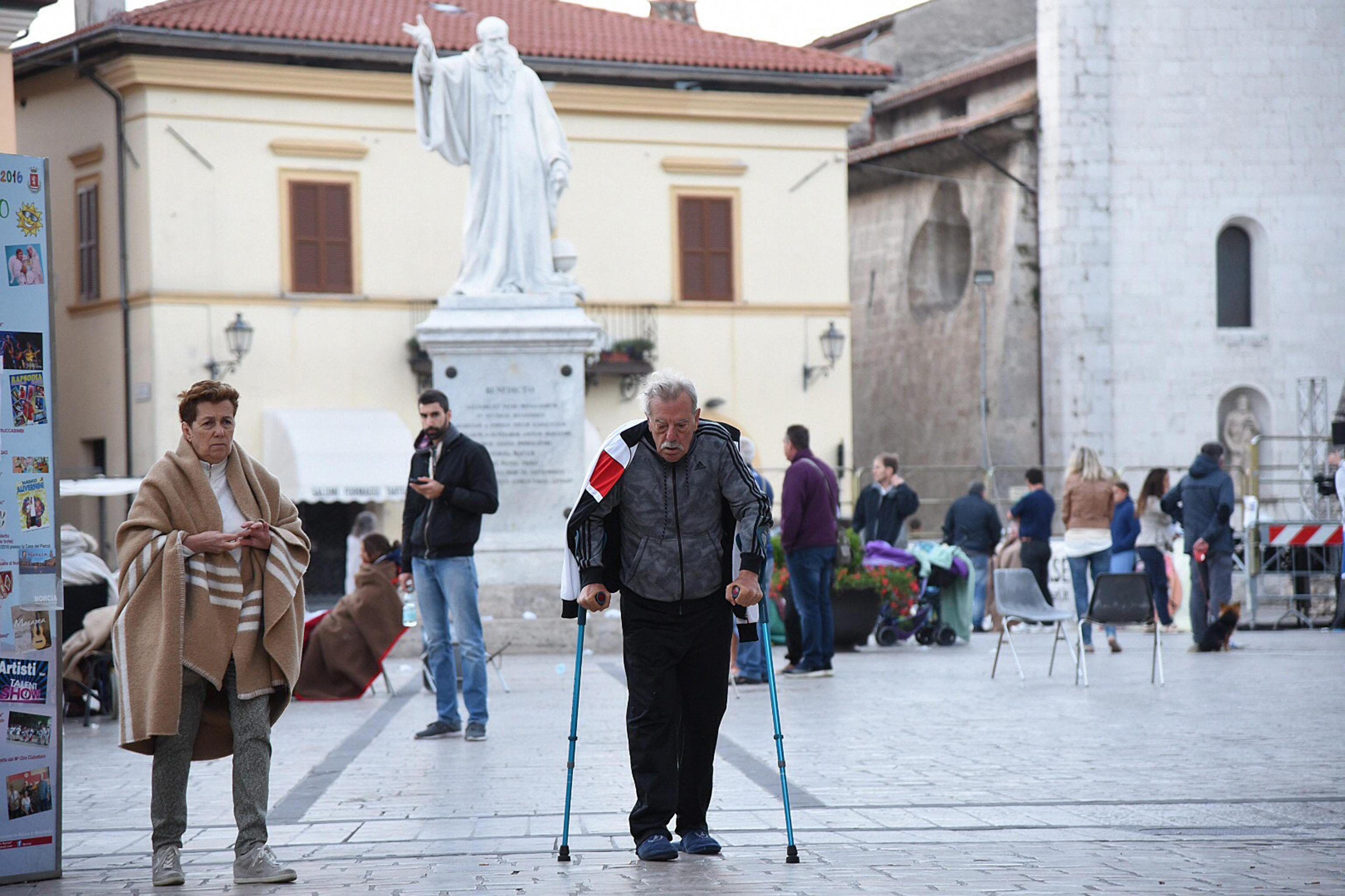 Terremoto en Italia: imágenes impactantes