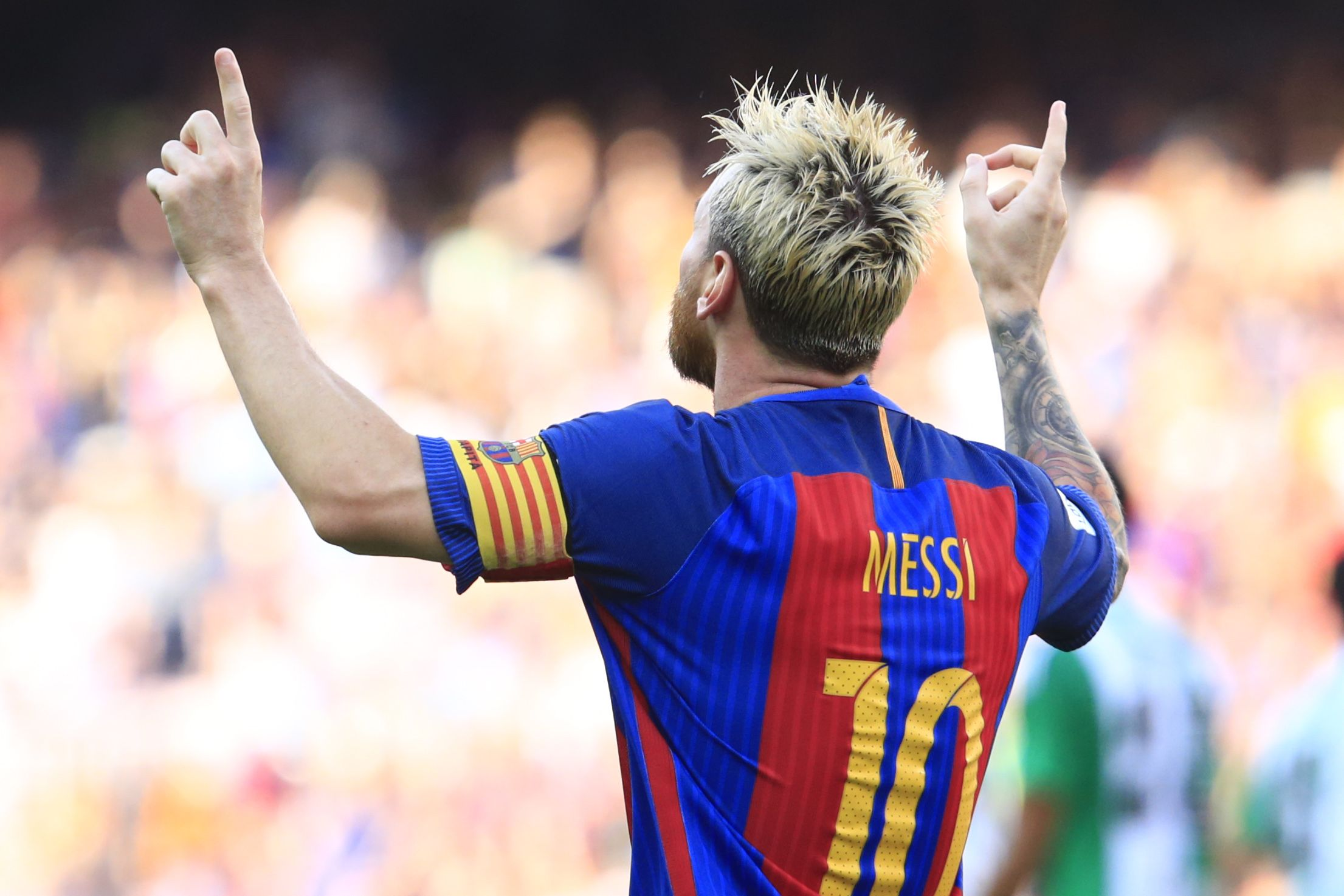 Marca registrada: de zurda y al segundo palo, el golazo de Lionel Messi