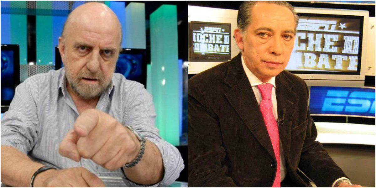Guerra de periodistas deportivos: el cruce entre Pagani y Carlos Irusta