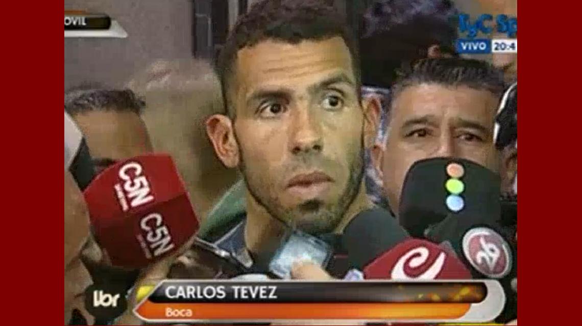 Tevez, tras la reunión con Agremiados: Se llegó a un acuerdo y va a comenzar el fútbol