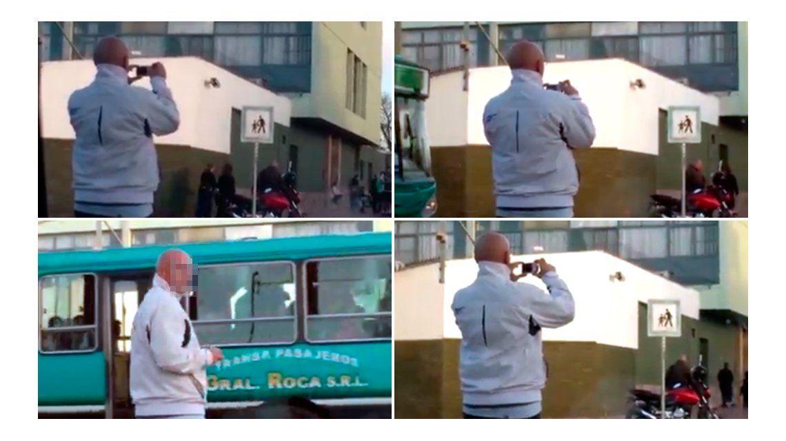 Escándalo en Mendoza por el video de un hombre grabando a nenes en el colegio