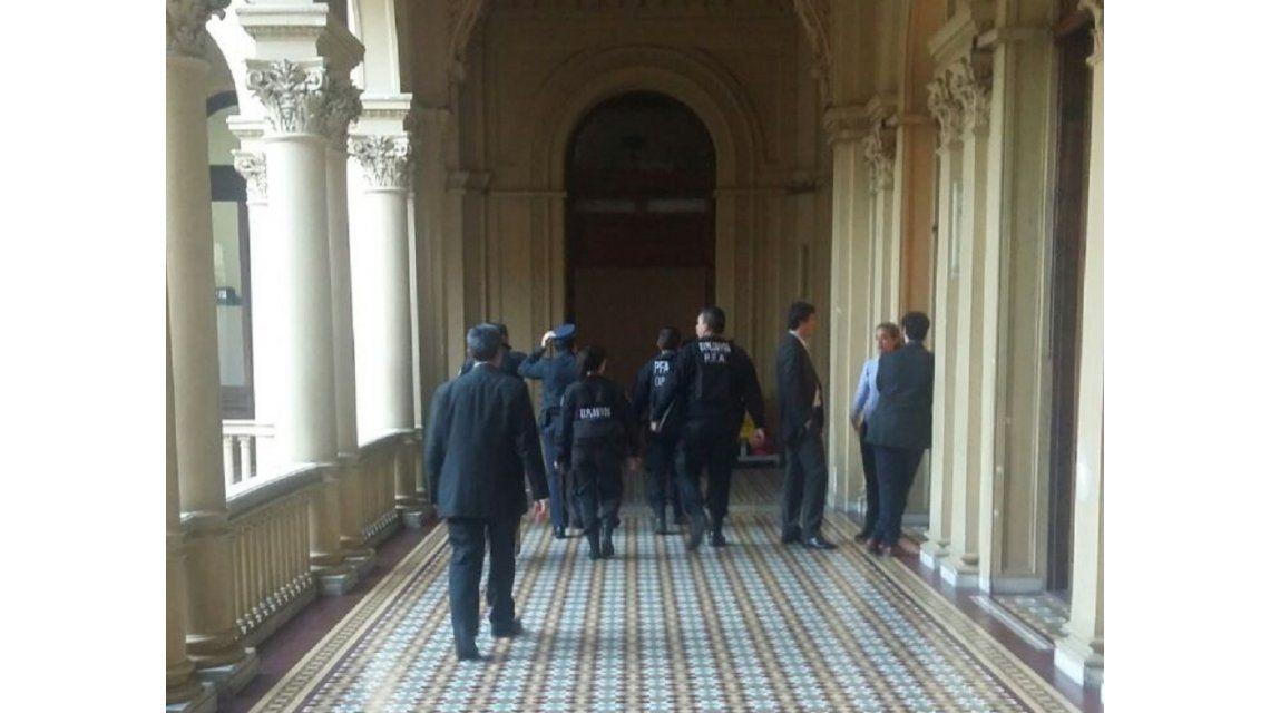 Hubo otra amenaza de bomba en Casa Rosada