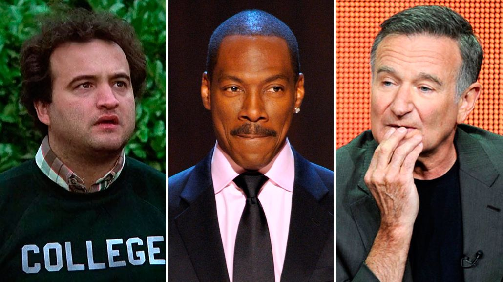 Eddie Murphy contó cuando John Belushi y Robin Williams le ofrecieron cocaína y la rechazó