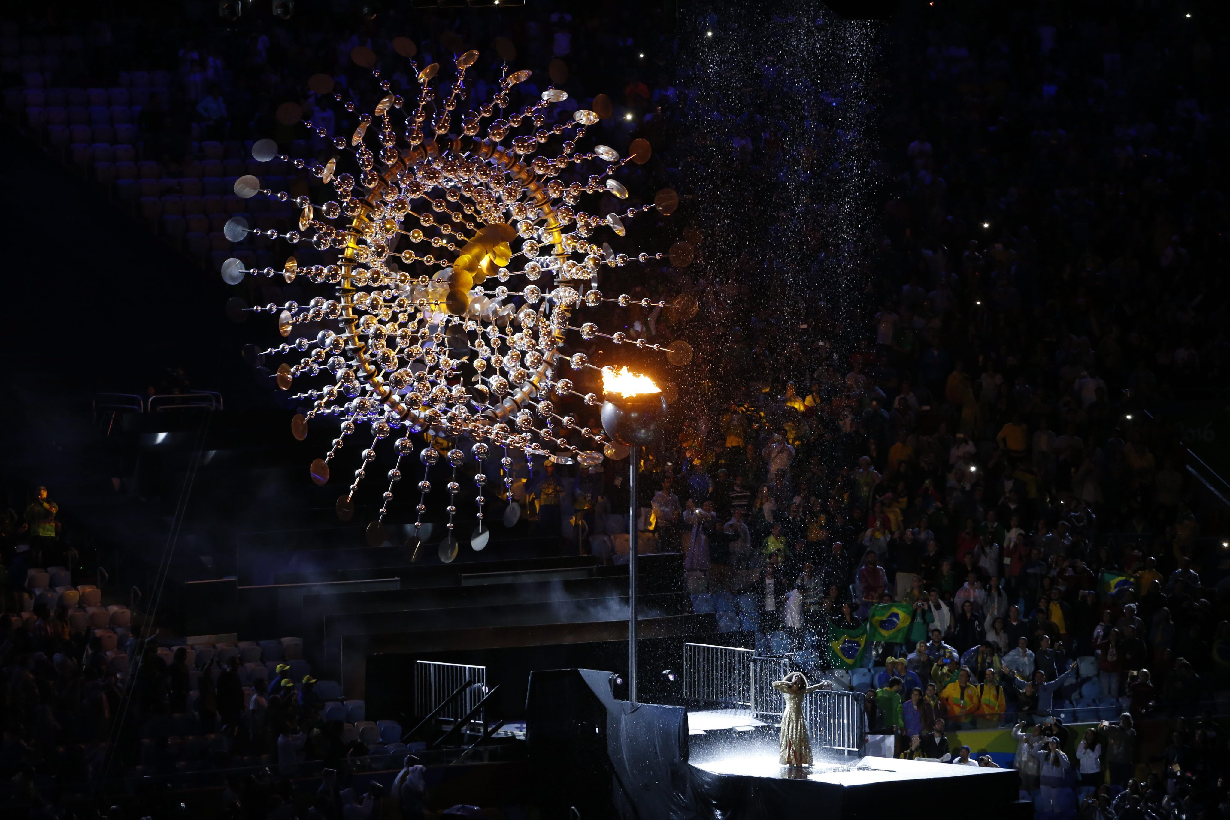 La clausura de los Juegos Olímpicos Río 2016