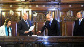 Juró Rosenkrantz y la Corte Suprema vuelve a tener cinco miembros