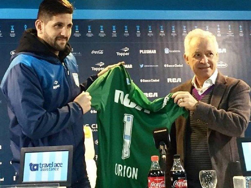 Agustín Orion se va de Racing