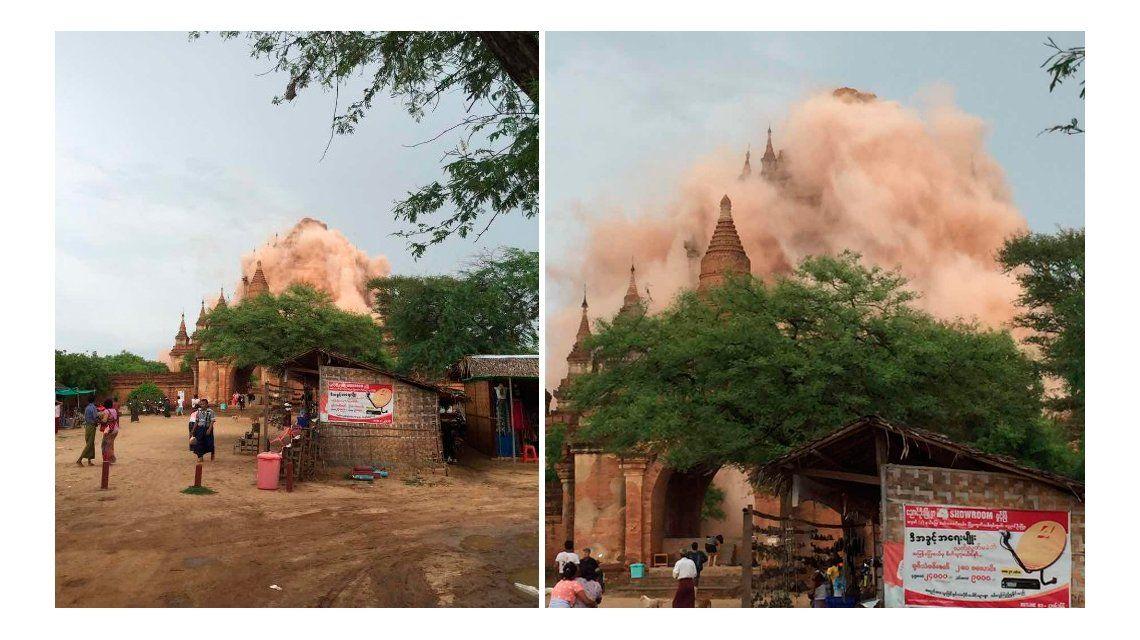 Otro terremoto: ahora ocurrió en Birmania y fue de casi 7 grados en la escala Richter