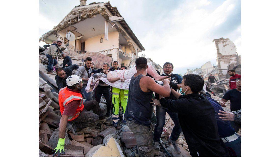 Italia declaró estado de emergencia tras el terremoto en Amatrice