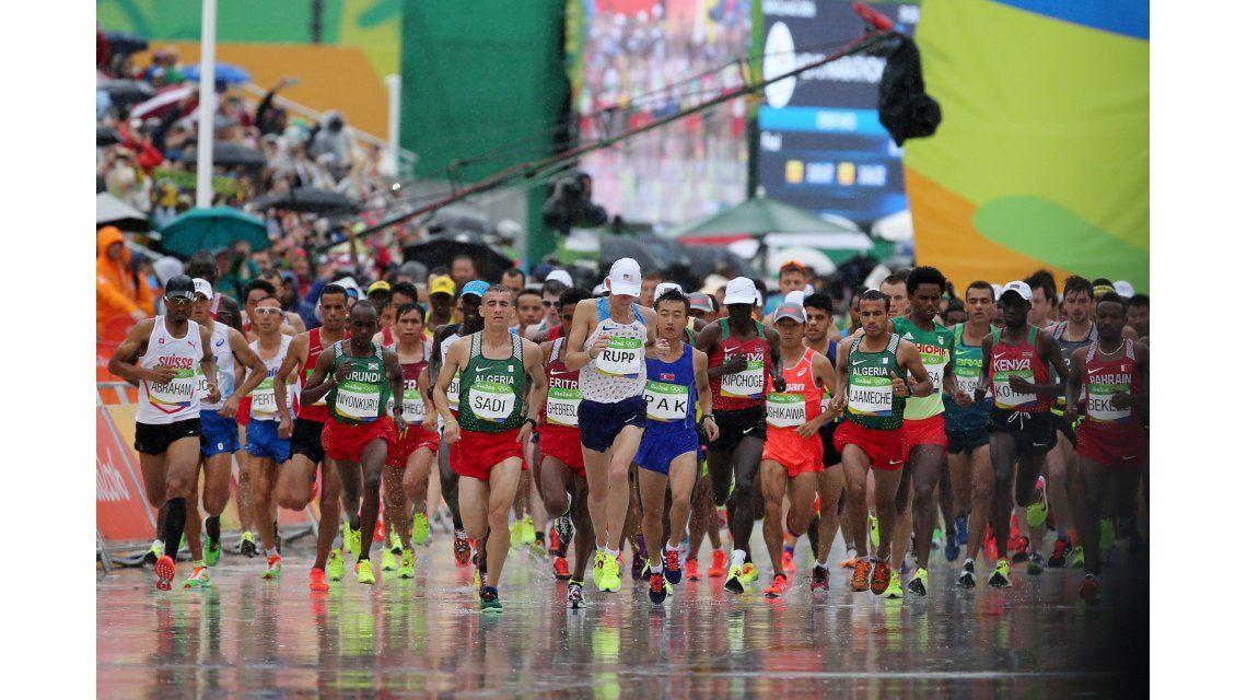 Mastromarino fue el mejor argentino en la maratón: terminó 53º