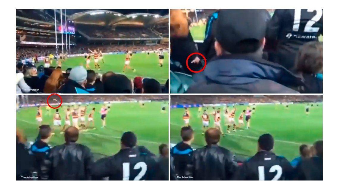 VIDEO: Una mujer tiró una banana a un jugador y desató una polémica sobre el racismo en Australia