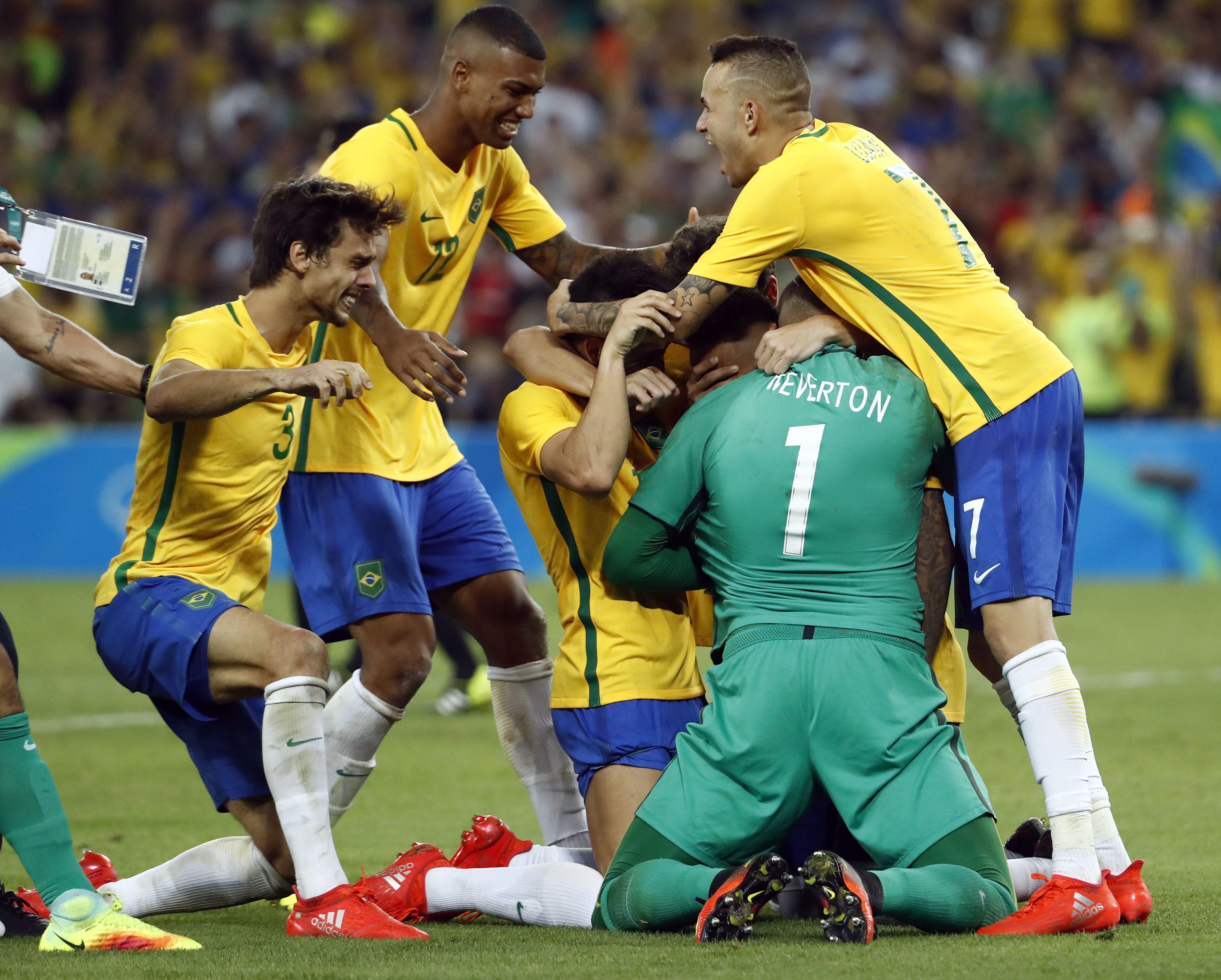 No hubo maracanazo: Brasil le ganó por penales a Alemania y se llevó el oro