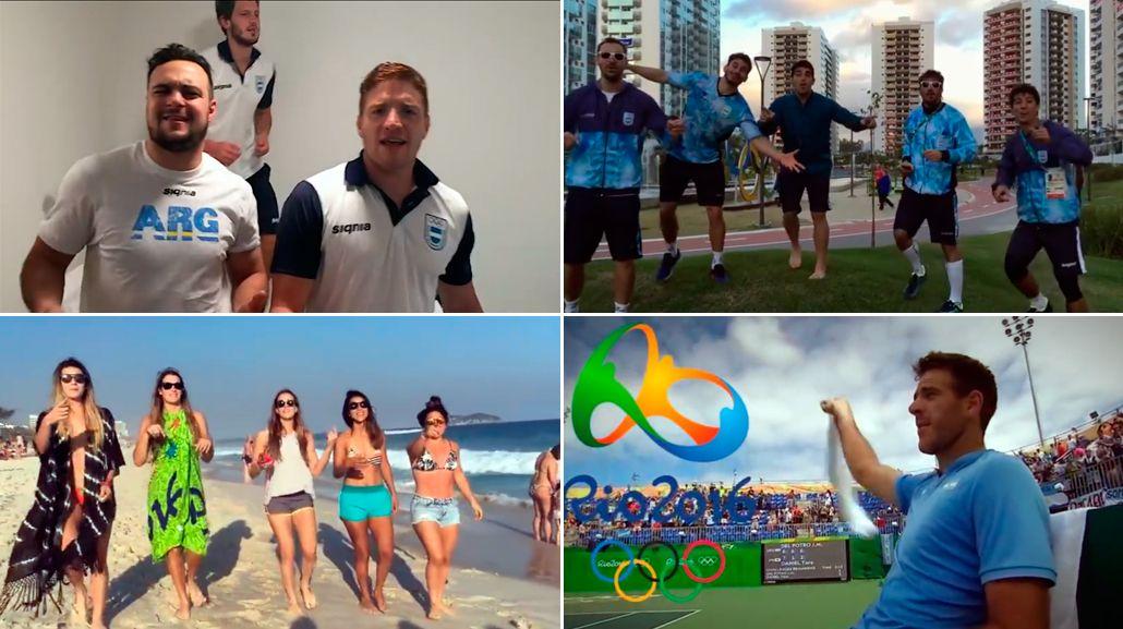 En el cierre de Río 2016, la delegación argentina bailó al ritmo de Los Bonnitos