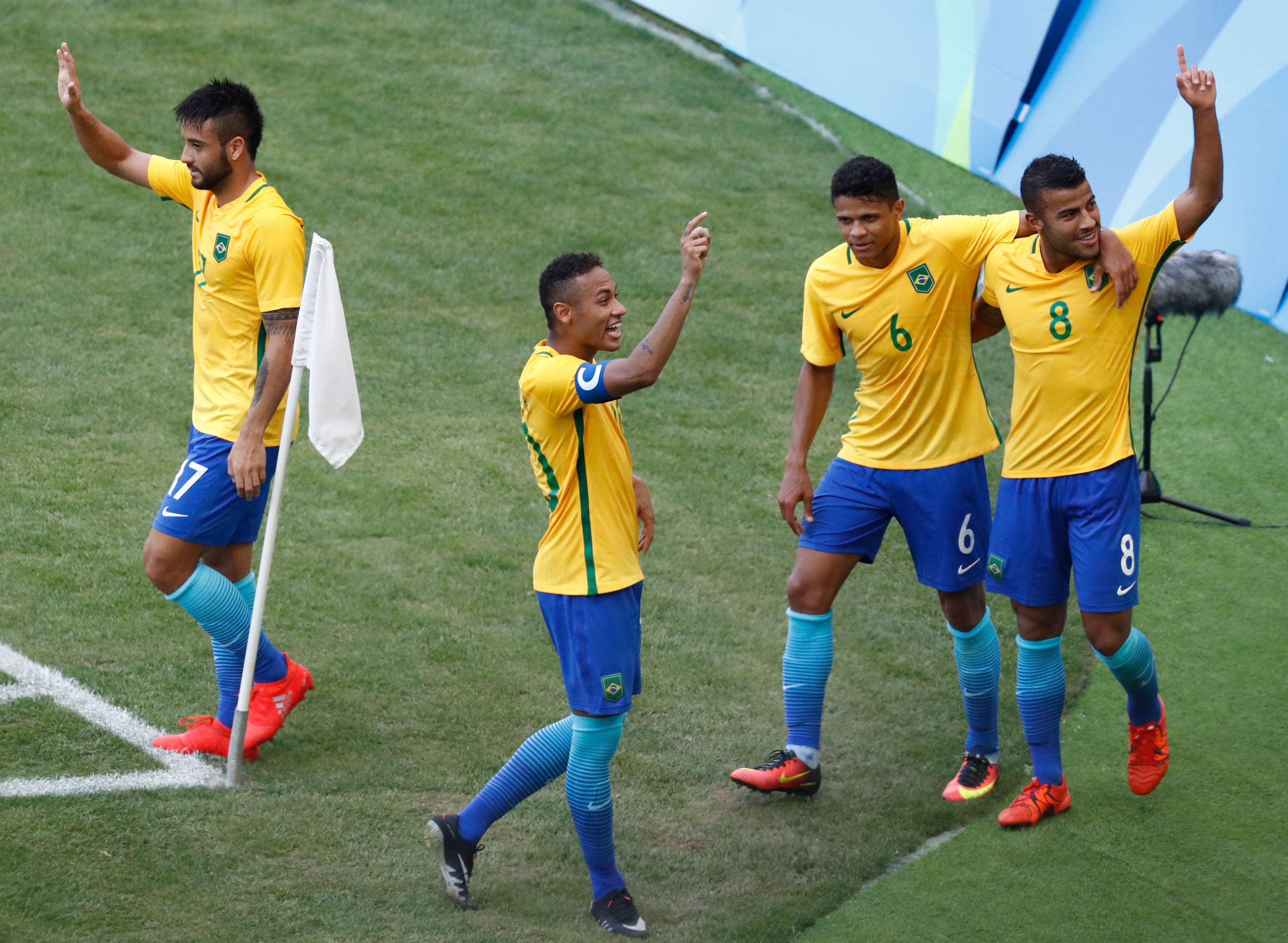 Brasil aplastó a Honduras e irá por su primera medalla dorada en fútbol de su historia