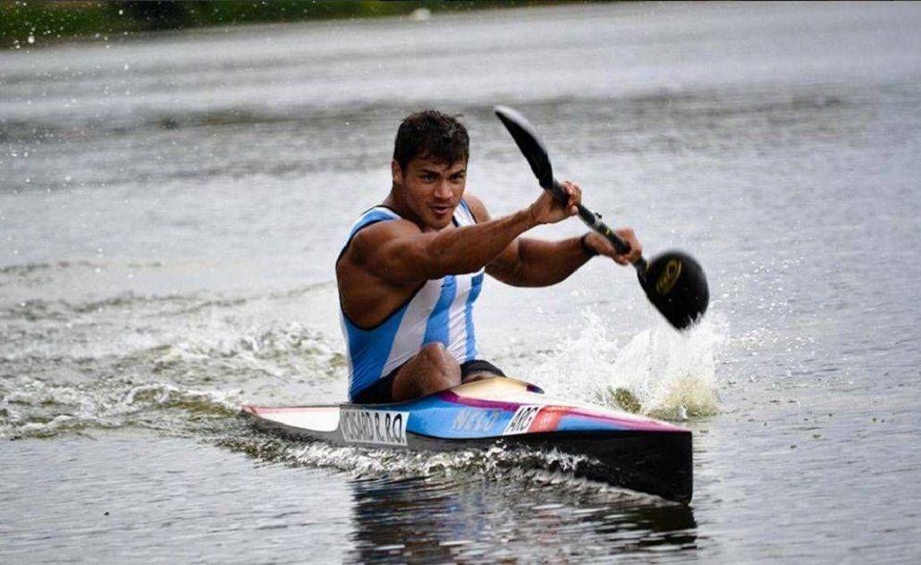 El argentino Rubén Rezola finalizó último en la final B del K1 200 de canotaje