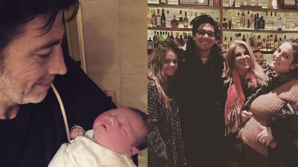 Abuelos babosos: la emoción de Reina Reech por asistir el parto de Toribio y la primera foto de Nico Repetto con el bebé
