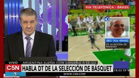 Hernández, antes de enfrentar al Dream Team: La ilusión no nos la quitan