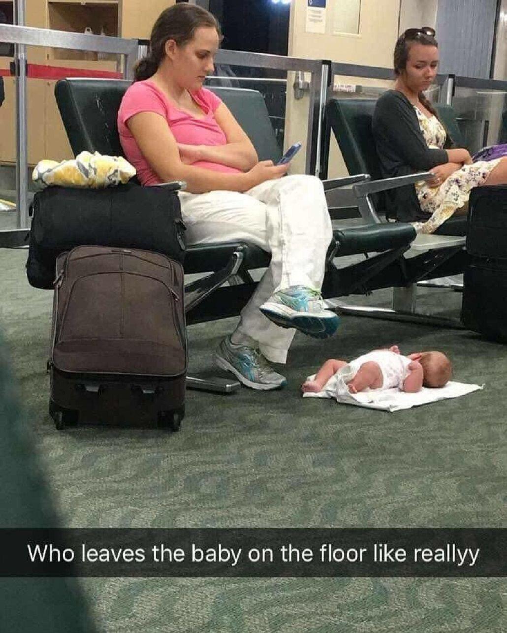 ¿Madre distraída? La explicación de una foto que indignó a todos