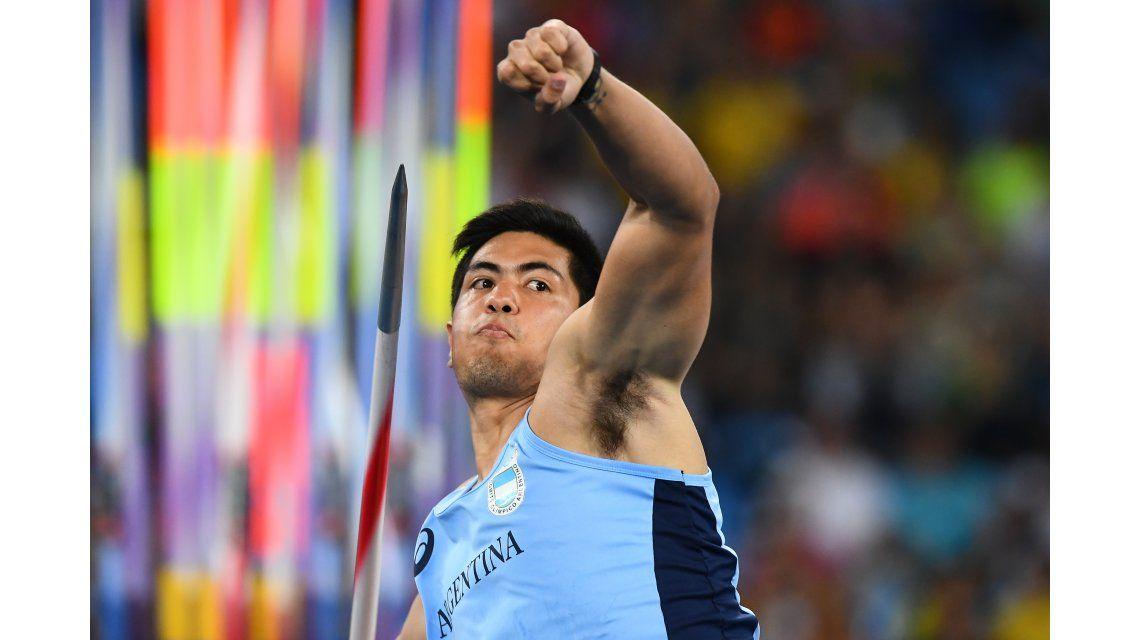 El argentino Braian Toledo quedó en el décimo puesto en la final de jabalinas