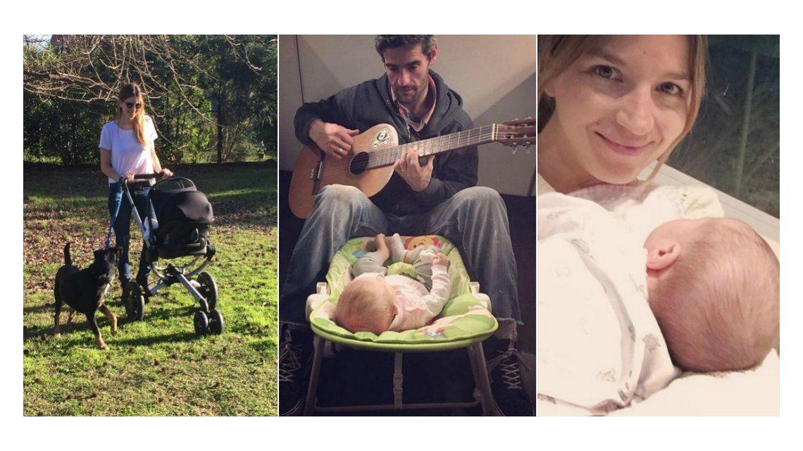 El álbum de fotos de Marcela Kloosterboer con su hija Juana