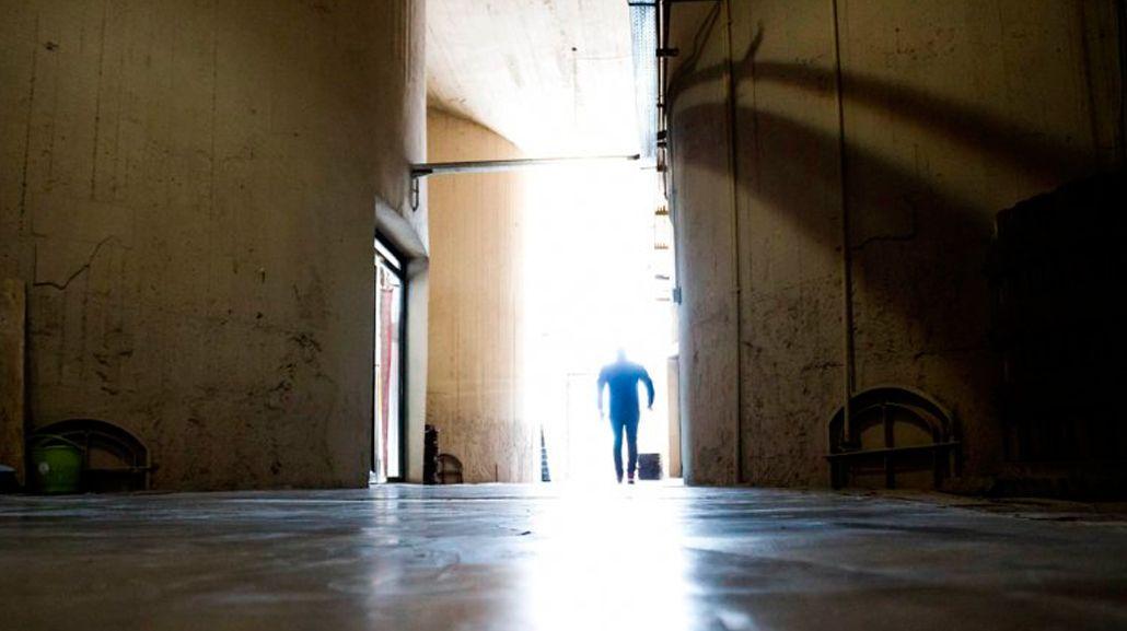 Miedo en una galería comercial por la presencia de un fantasma