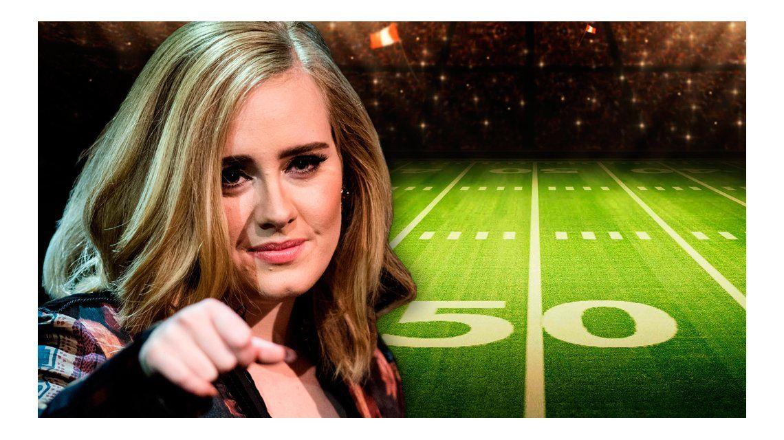 La guerra entre Adele y los organizadores del SuperBowl 2017