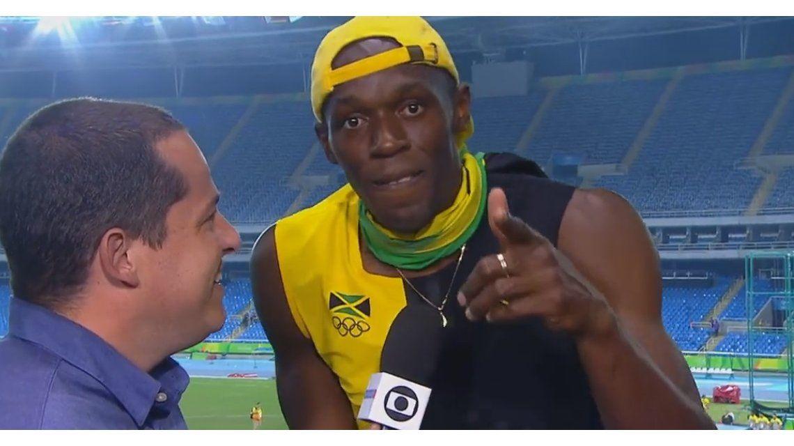 ¡Y también canta! Usain Bolt entonó un tema de Bob Marley