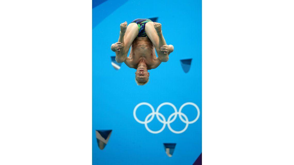 ¿Qué quiso hacer? El campeón de saltos protagonizó un papelón en Río