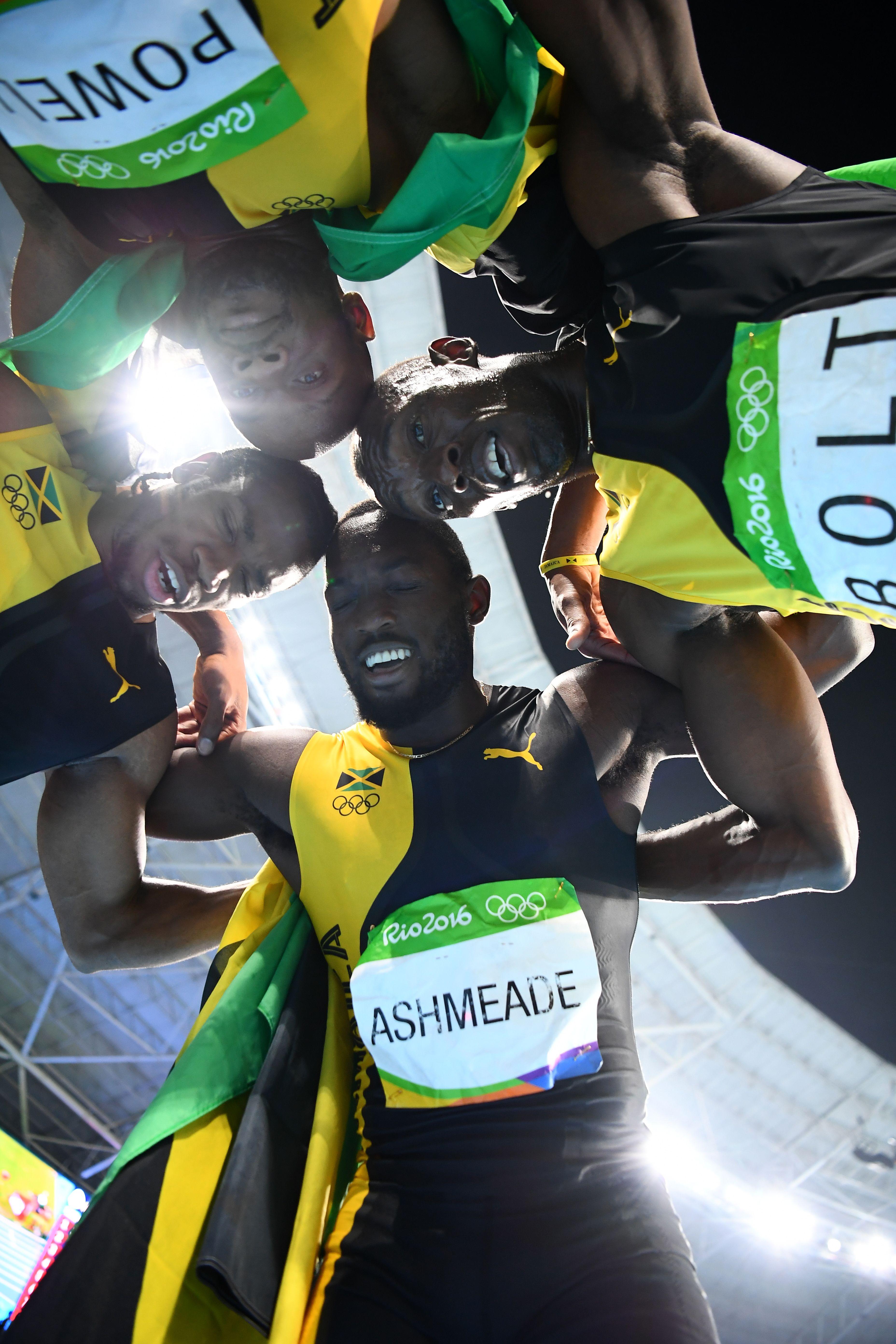 La novena medalla dorada del imparable Usain Bolt, en fotos
