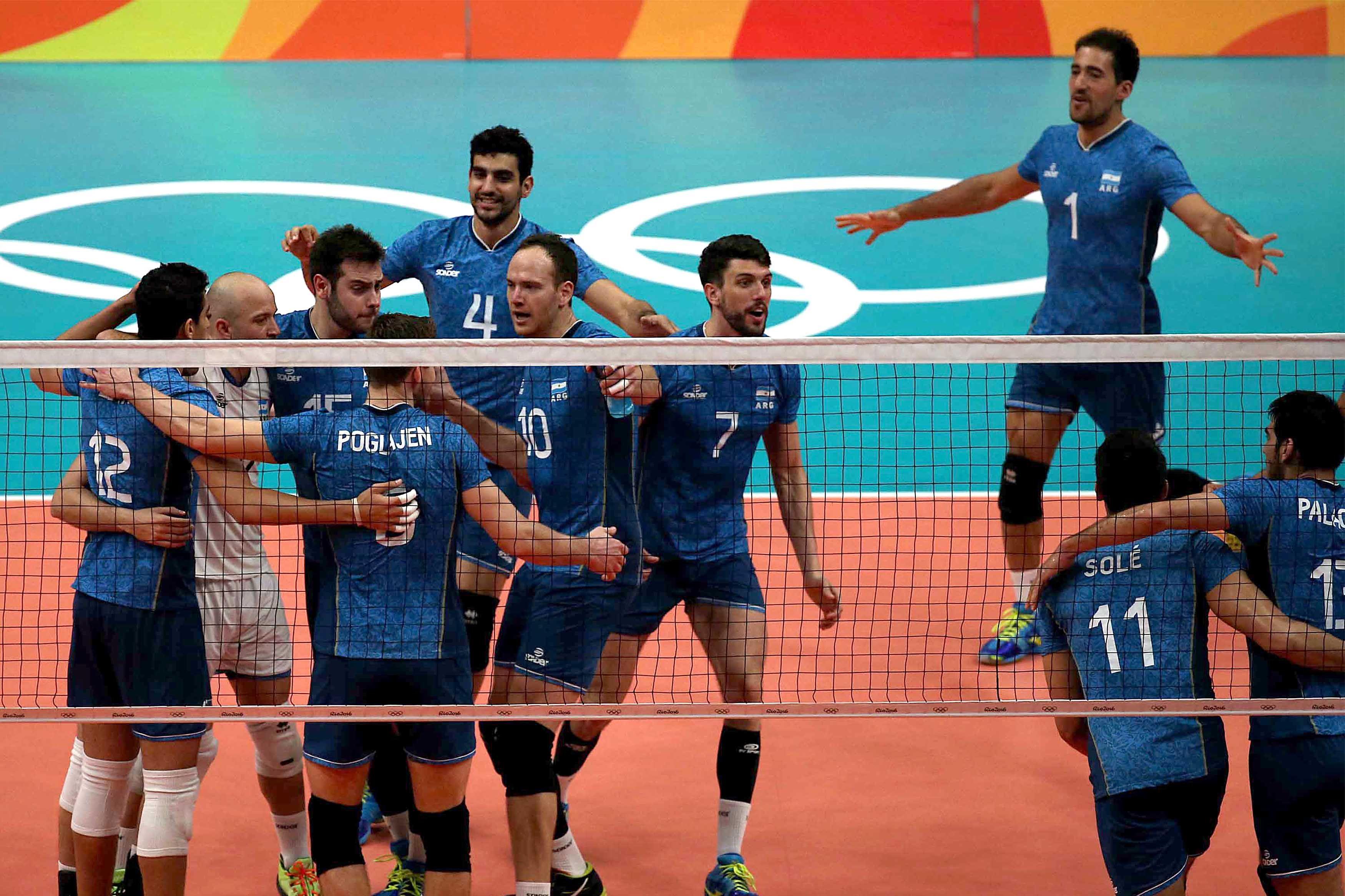 Histórico: la Selección de voley venció a Egipto y quedó primera en su grupo