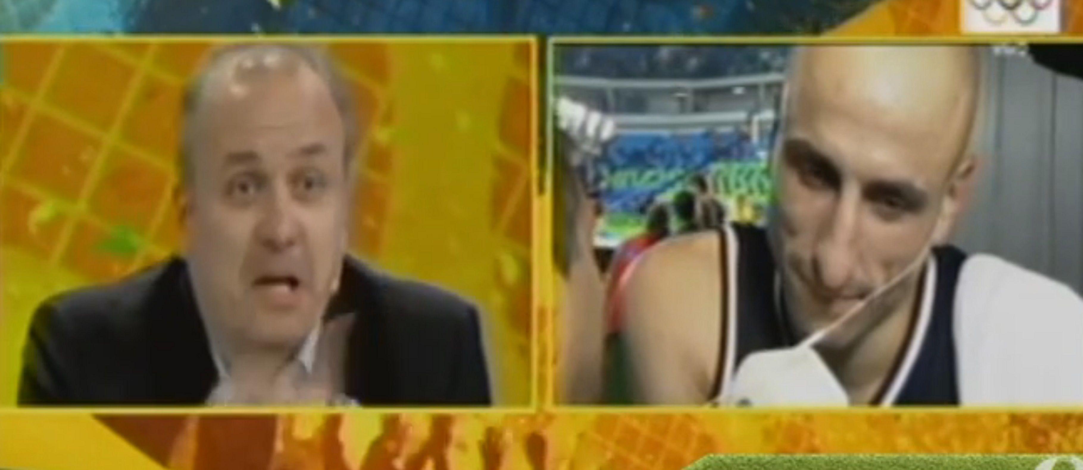 VIDEO: el emotivo cruce entre Manu Ginóbili y su hermano