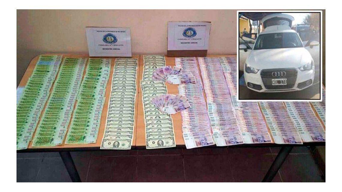 Gato por yaguareté: detuvieron a dos hombres con $ 210 mil falsos