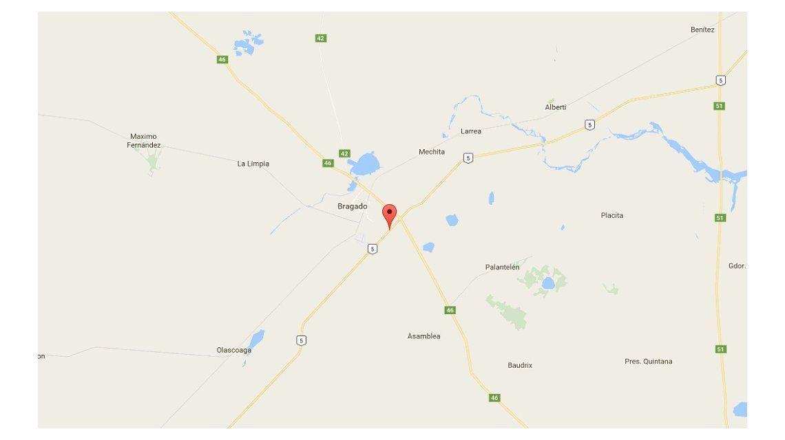 Volcó un micro en Bragado: hay al menos 20 heridos, tres de gravedad