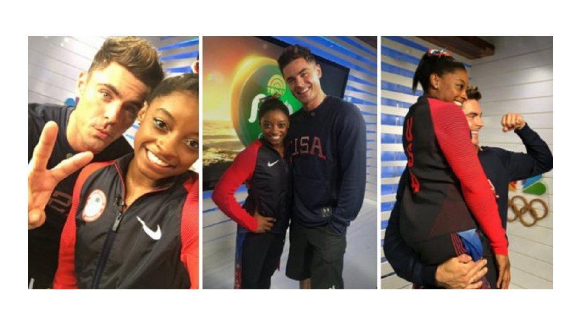Juegos Olímpicos: Zac Efron viajó a Brasil y le cumplió el sueño a una gimnasta