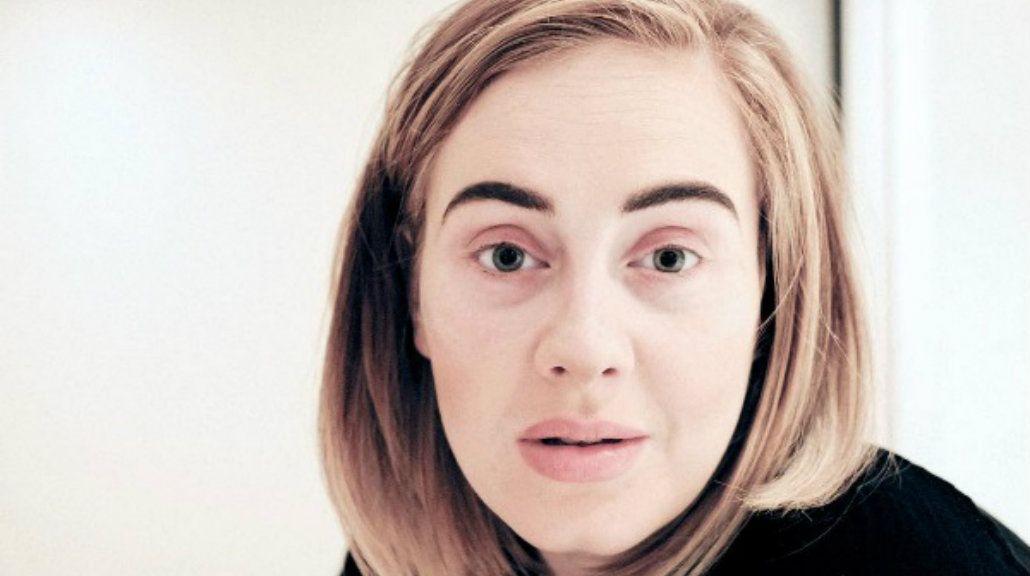 Belleza natural: Adele dio la cara antes de cancelar un concierto