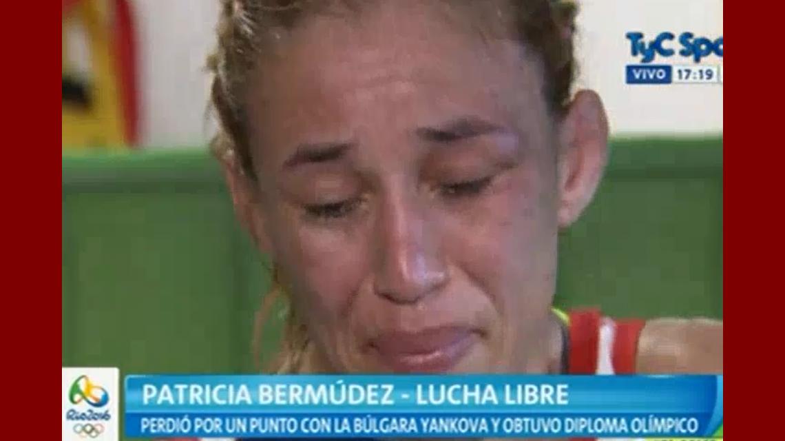 El llanto desconsolado de Bermúdez tras la derrota: Estoy muy enojada