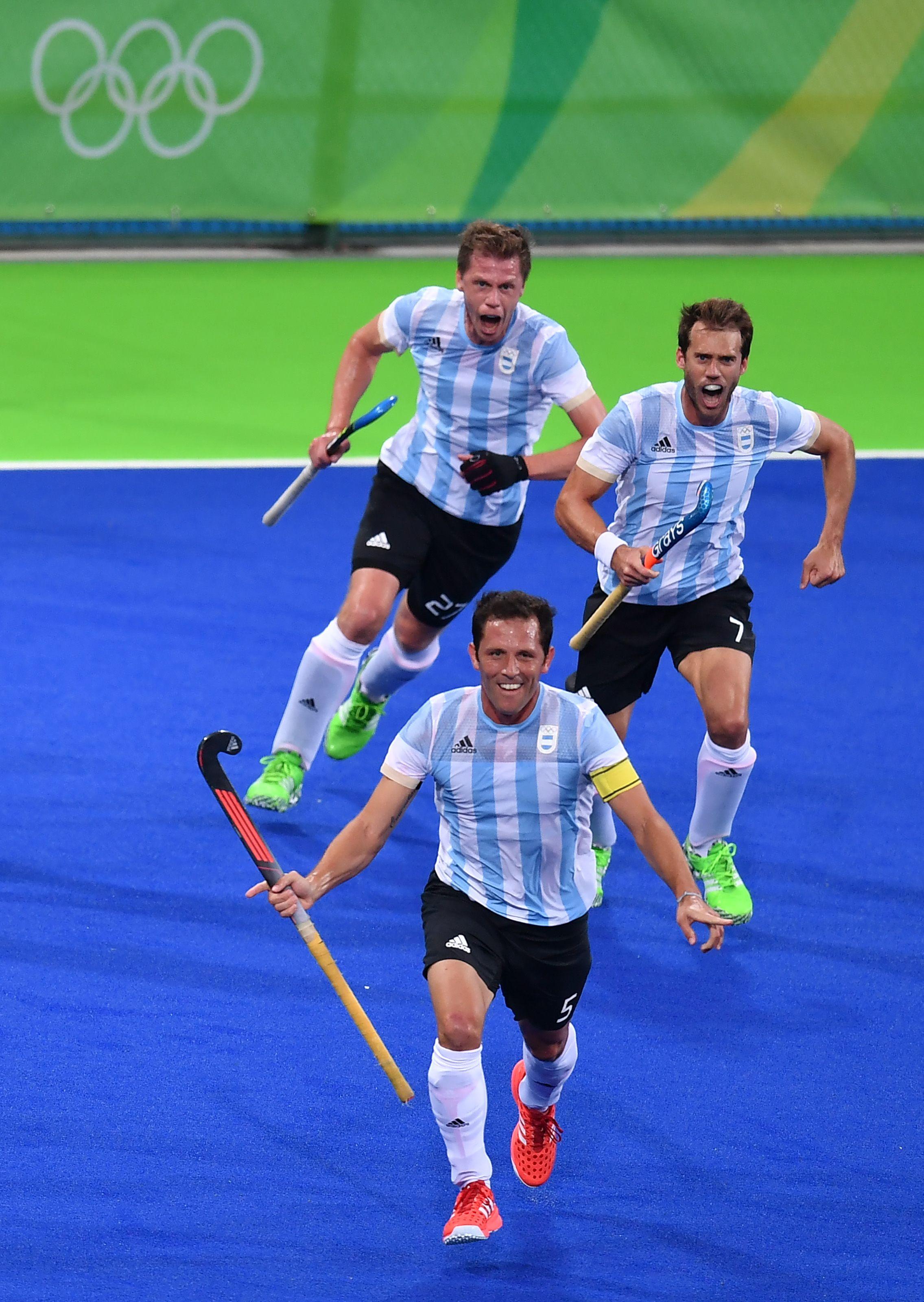 Los Leones vencieron a Bélgica y ganaron la medalla de oro en Río