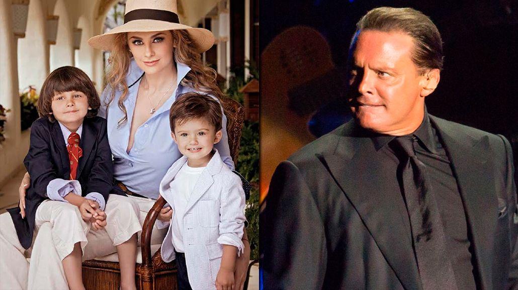 Una ex de Luis Miguel lo acusa de abandonar a sus hijos menores