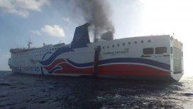 Susto en el Caribe: un crucero se incendia con 500 personas a bordo