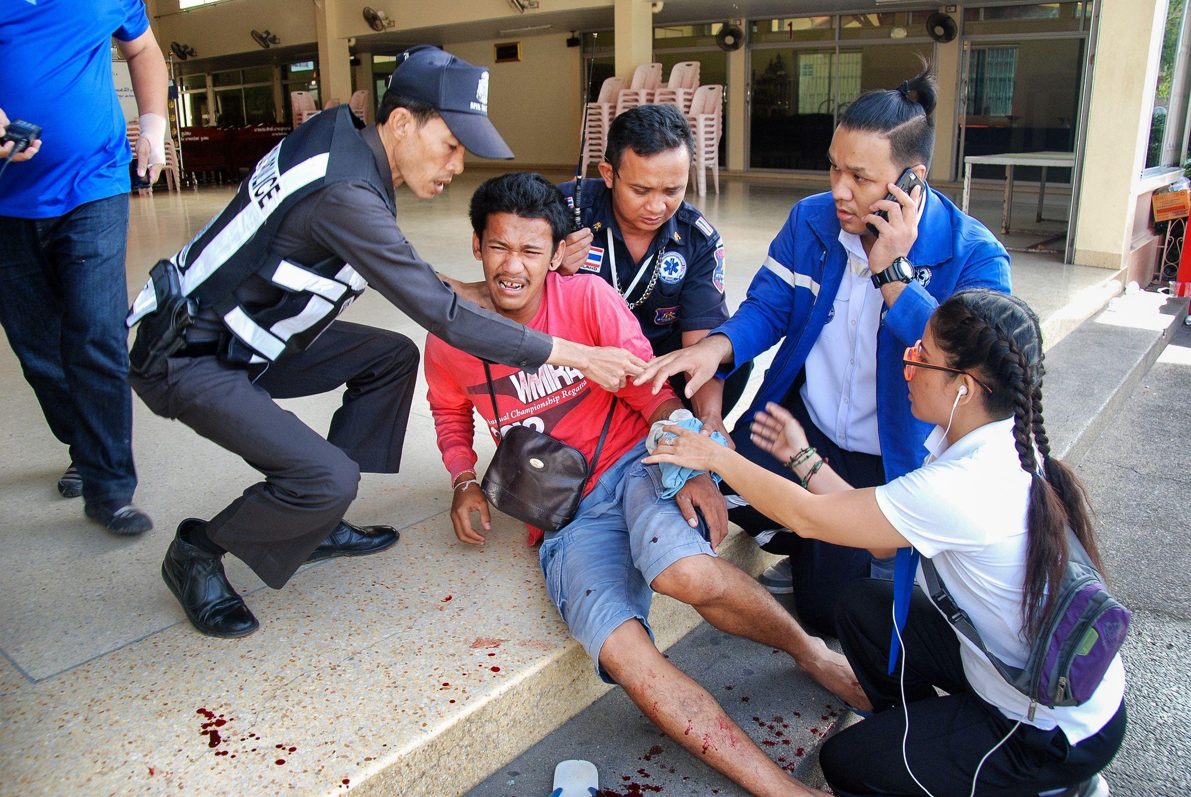 Doce bombas sacuden a zonas turísticas de Tailandia: hay 4 muertosy 45 heridos