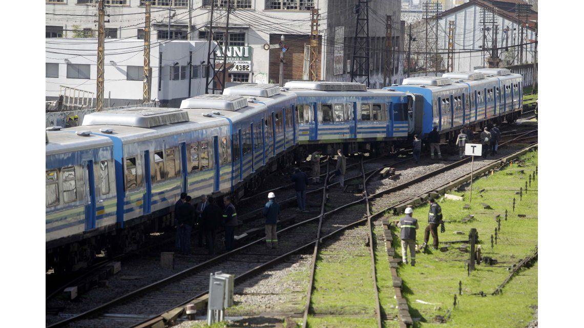 Descarriló un tren del Sarmiento en Liniers y al menos 13 pasajeros resultaron heridos