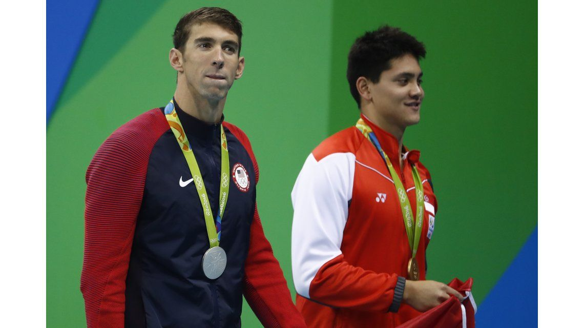 El día que un chico de 21 años le quitó el trono olímpico a Michael Phelps