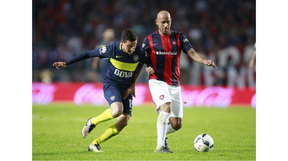 Con goles de Carrizo y Pérez, Boca le ganó a San Lorenzo en La Plata