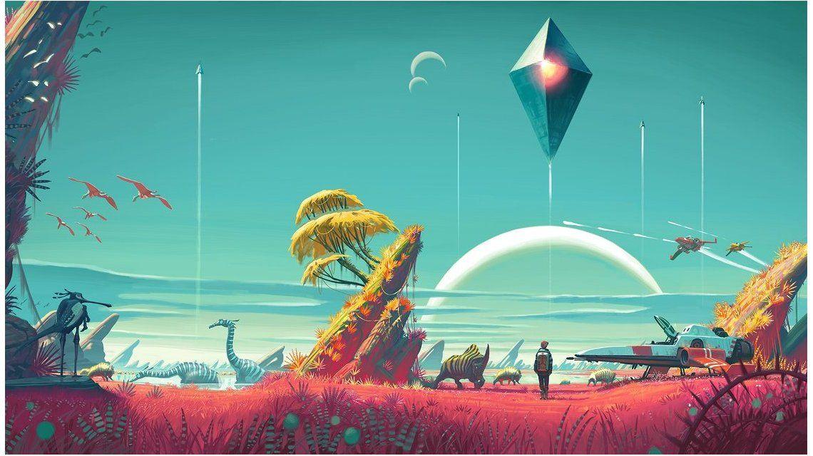 El videojuego No Mans Sky permite explorar más de 18 trillones de planetas
