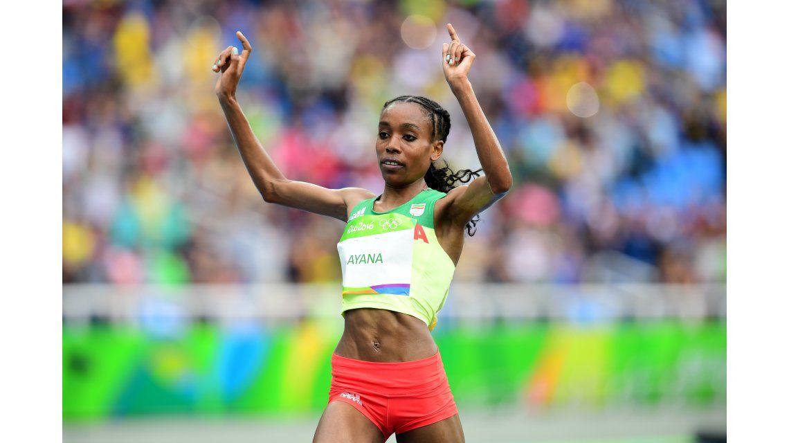 La etíope Almaz Ayana marcó un nuevo récord en los 10.000 metros