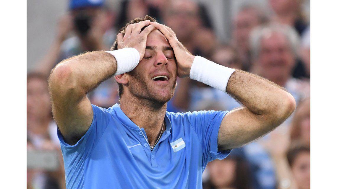 Juan Martín Del Potro recibió la invitación y jugará el US Open