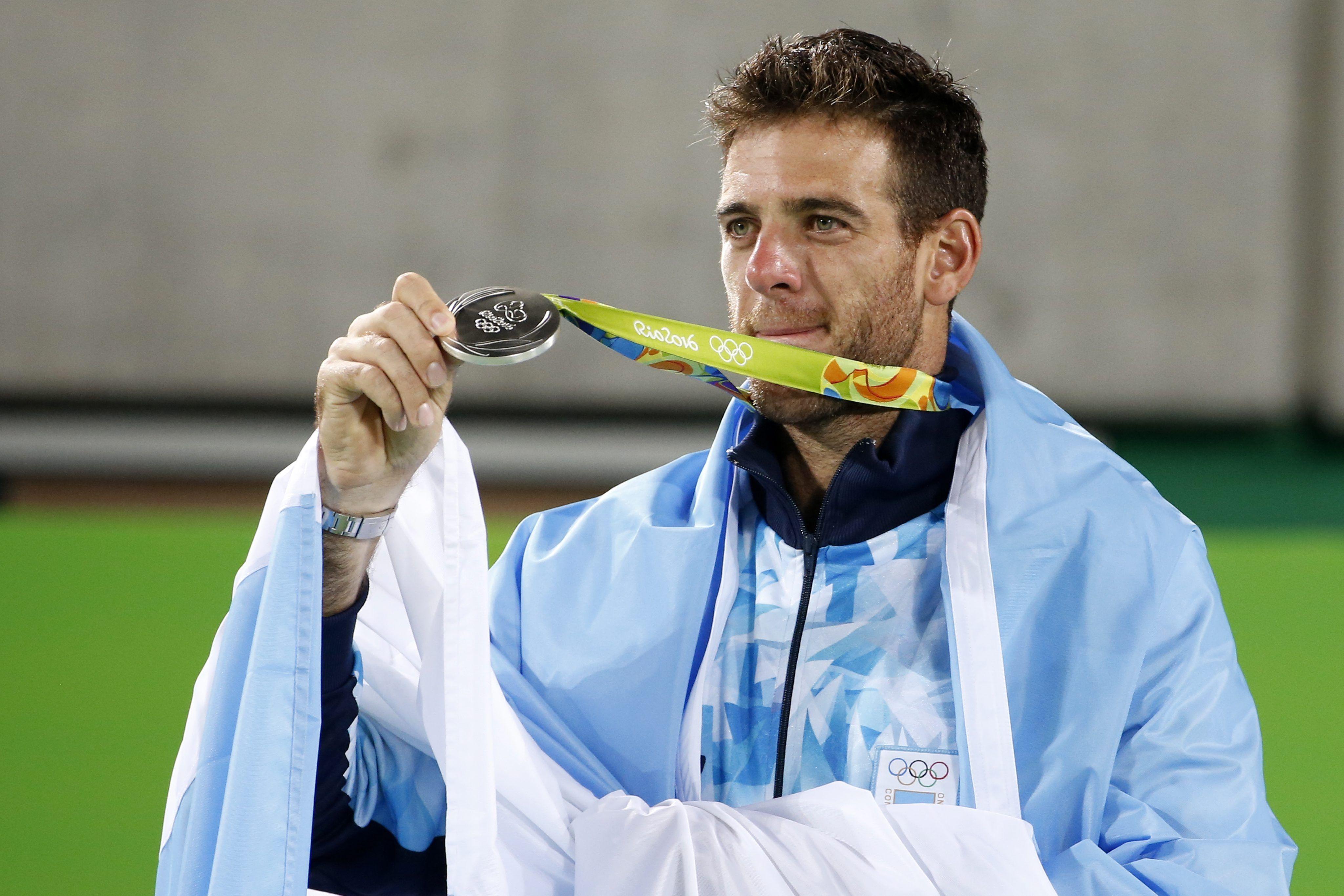 Tras la plata de Del Potro, ¿cómo quedó Argentina en el medallero?