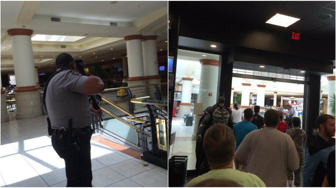 Tiroteo en un centro comercial de Carolina del Norte: la Policía busca a un sospechoso