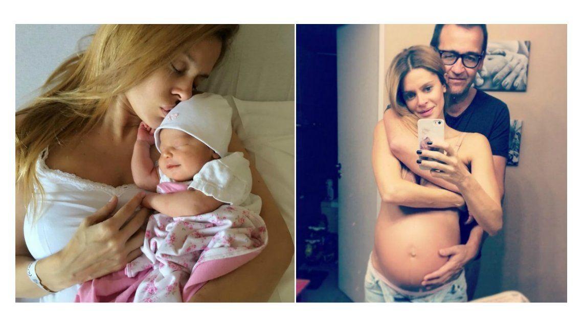 Vanina Escudero presentó a su hija: Esta familia te esperaba con tanto amor