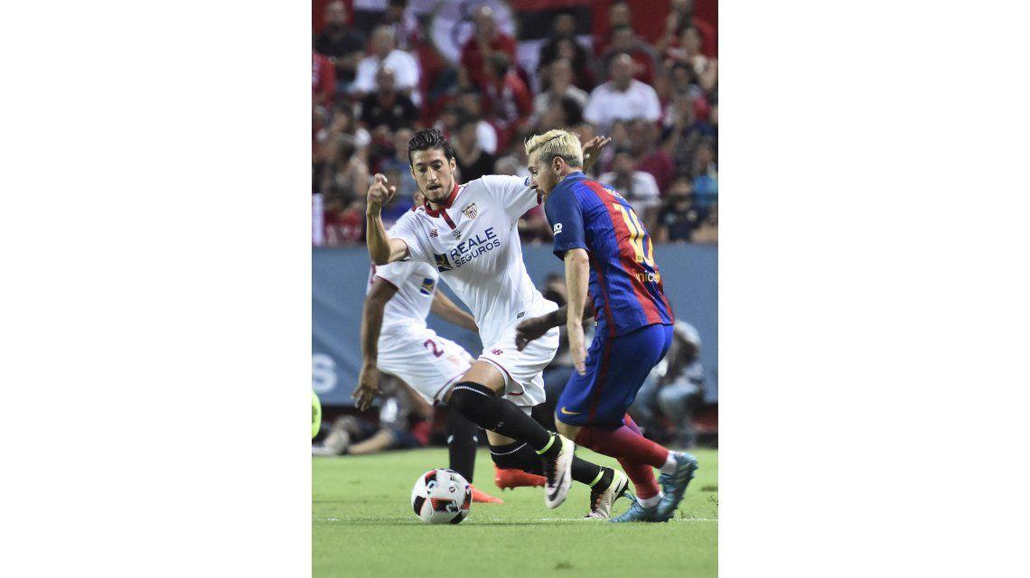 Volvió Messi: Barcelona se impuso al Sevilla en la Supercopa de España