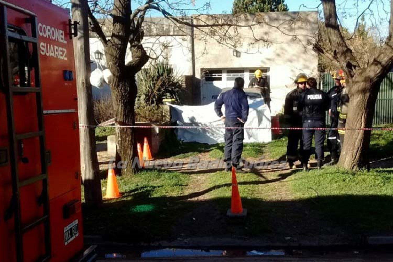 Tragedia en Suárez: murió aplastado por su propio auto